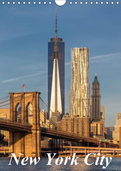New York City / CH-Version (Wandkalender 2017 DIN A4 hoch) - Coverbild