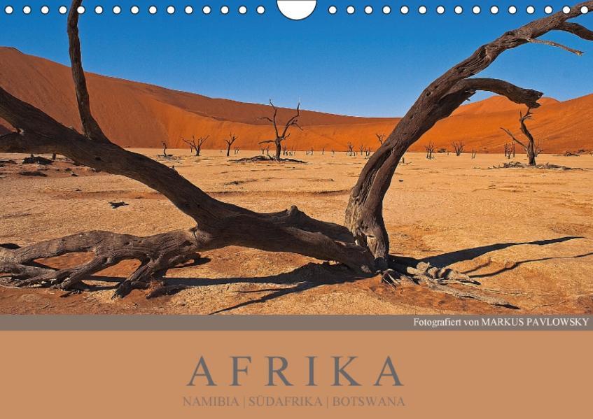 Afrika - Namibia  Südafrika  Botswana / CH - Version (Wandkalender 2017 DIN A4 quer) - Coverbild