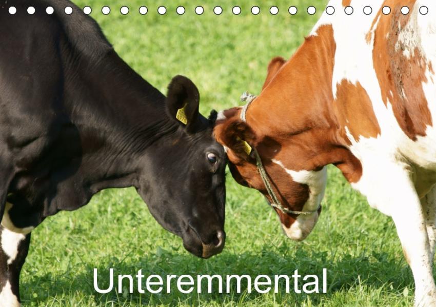 UnteremmentalCH-Version  (Tischkalender 2017 DIN A5 quer) - Coverbild