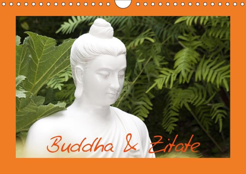 Buddha & Zitate (Wandkalender 2017 DIN A4 quer) - Coverbild