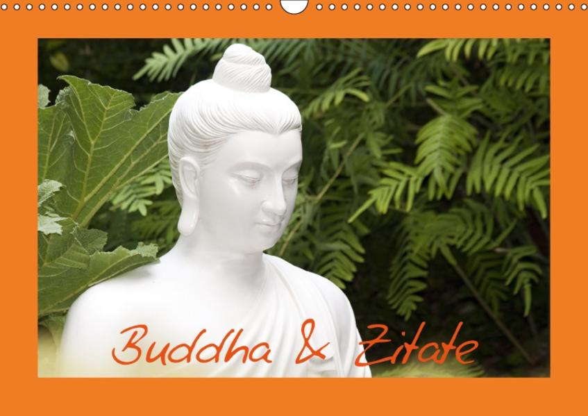 Buddha & Zitate (Wandkalender 2017 DIN A3 quer) - Coverbild