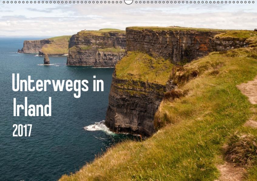 Unterwegs in Irland (Wandkalender 2017 DIN A2 quer) - Coverbild
