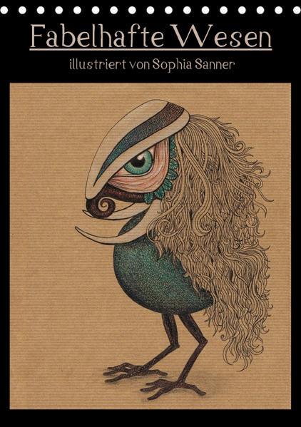 Fabelhafte Wesen / Geburtstagskalender (Tischkalender 2017 DIN A5 hoch) - Coverbild