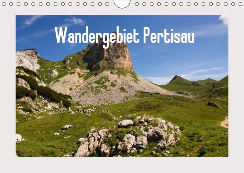 Wandergebiet Pertisau (Wandkalender 2017 DIN A4 quer) - Coverbild