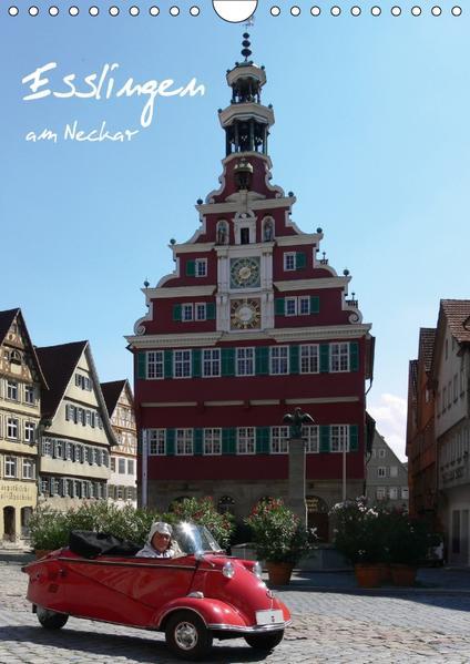 Esslingen am Neckar (Wandkalender 2017 DIN A4 hoch) - Coverbild