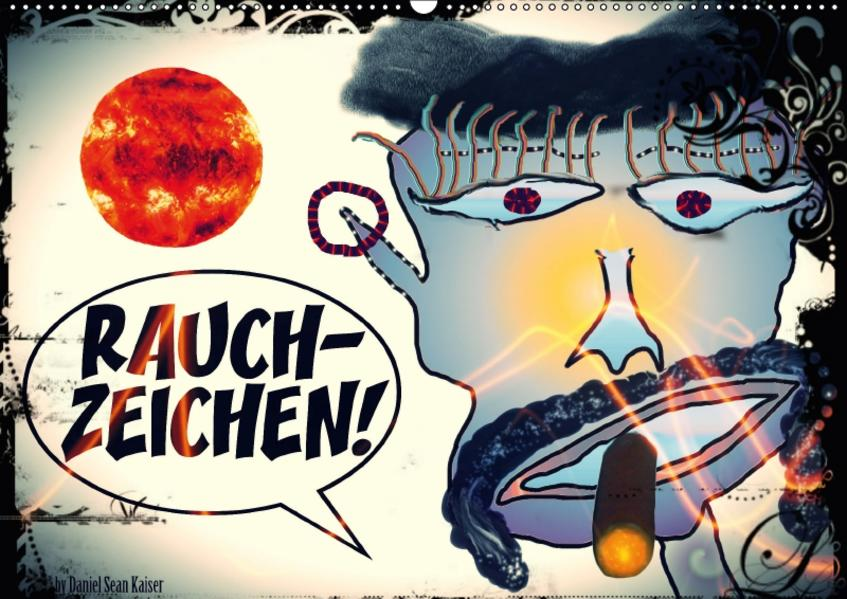 Rauchzeichen / AT-Version (Wandkalender 2017 DIN A2 quer) - Coverbild