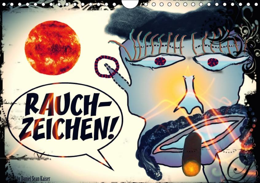Rauchzeichen / CH-Version (Wandkalender 2017 DIN A4 quer) - Coverbild