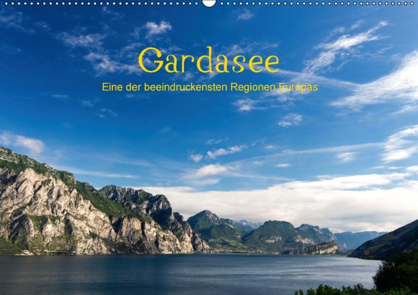 Gardasee / CH-Version (Wandkalender 2017 DIN A2 quer) - Coverbild