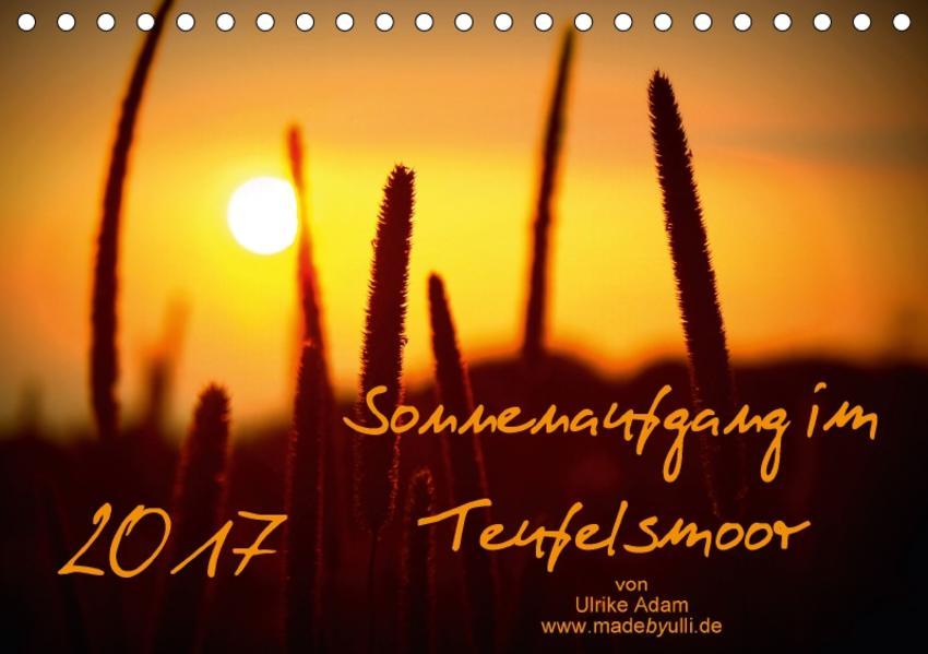 Sonnenaufgang im Teufelsmoor (Tischkalender 2017 DIN A5 quer) - Coverbild