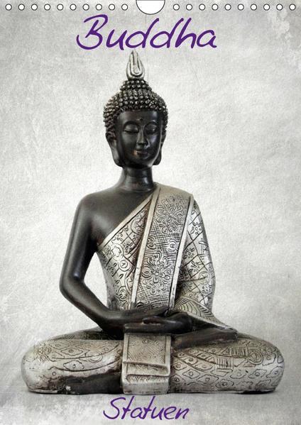 Buddha Statuen / CH-Version (Wandkalender 2017 DIN A4 hoch) - Coverbild