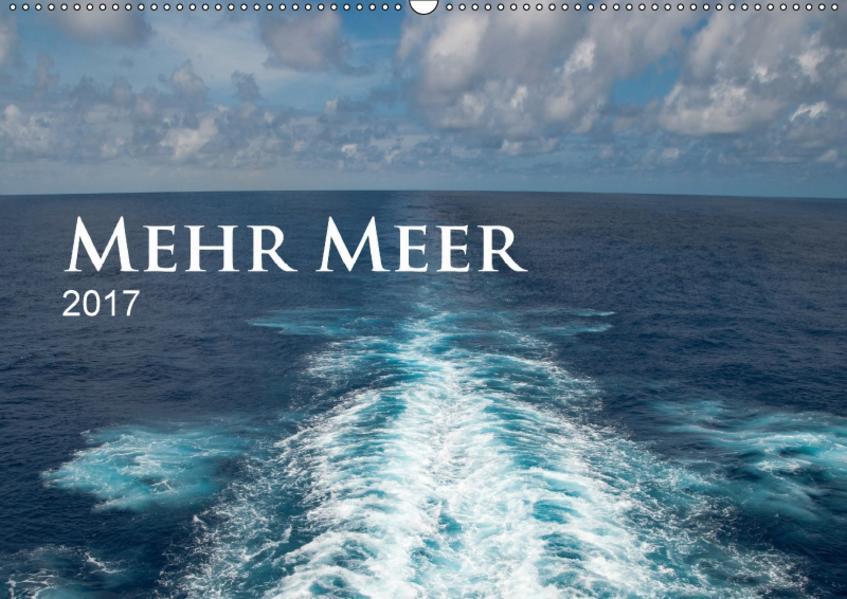 Mehr Meer (Wandkalender 2017 DIN A2 quer) - Coverbild