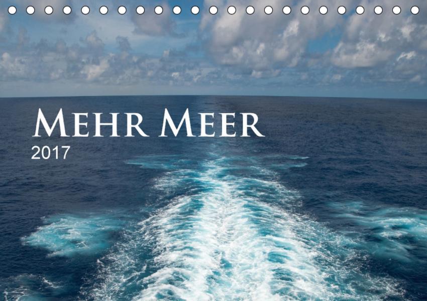 Mehr Meer (Tischkalender 2017 DIN A5 quer) - Coverbild