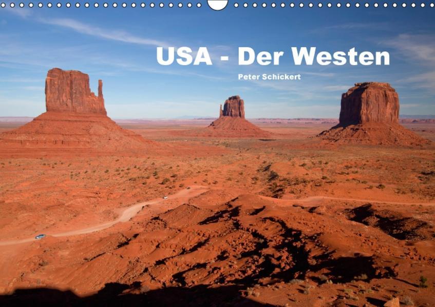 USA - Der Westen (Wandkalender 2017 DIN A3 quer) - Coverbild