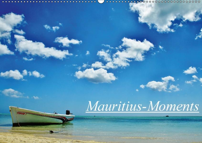 Mauritius - Moments (Wandkalender 2017 DIN A2 quer) - Coverbild