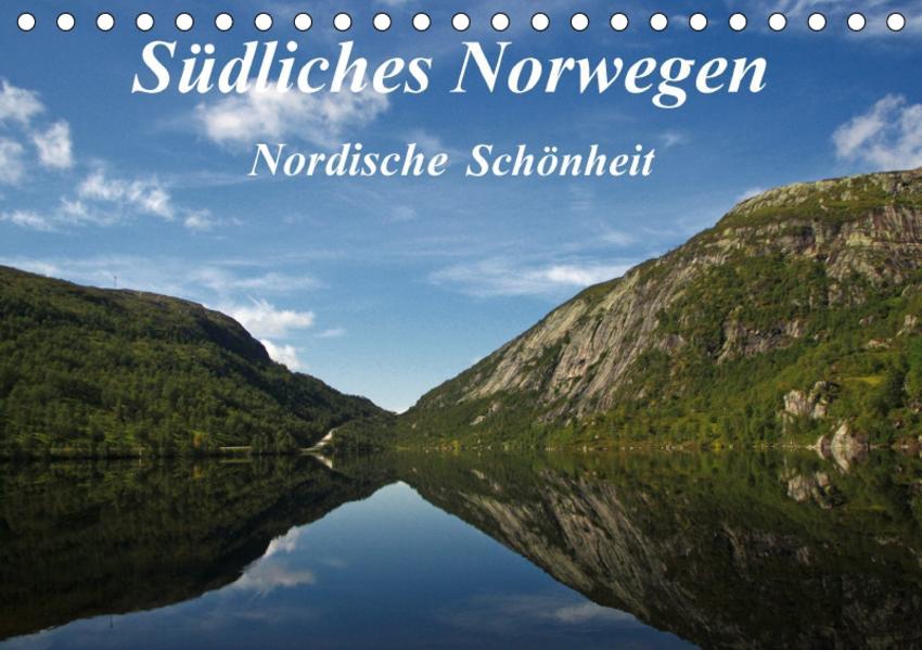 SüdlichesNorwegen Nordische Schönheit (Tischkalender 2017 DIN A5 quer) - Coverbild