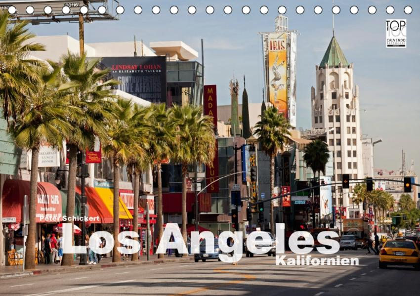 Los Angeles - Kalifornien (Tischkalender 2017 DIN A5 quer) - Coverbild