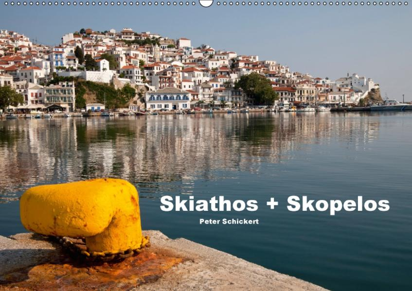 Skiathos + Skopelos (Wandkalender 2017 DIN A2 quer) - Coverbild