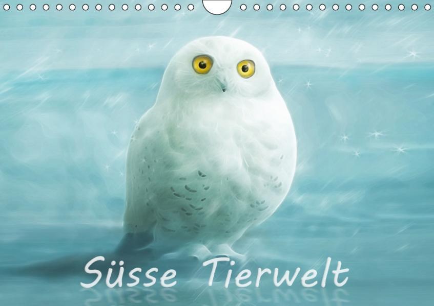 Süsse Tierwelt / AT-Version / Geburtstagskalender (Wandkalender 2017 DIN A4 quer) - Coverbild