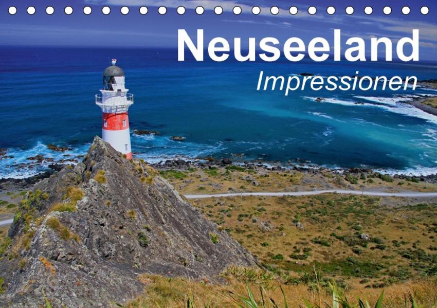 Neuseeland • Impressionen (Tischkalender 2017 DIN A5 quer) - Coverbild