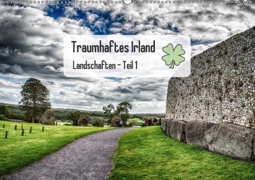 2017: Traumhaftes Irland - Landschaften Teil 1/CH-Version (Wandkalender 2017 DIN A2 quer) - Coverbild