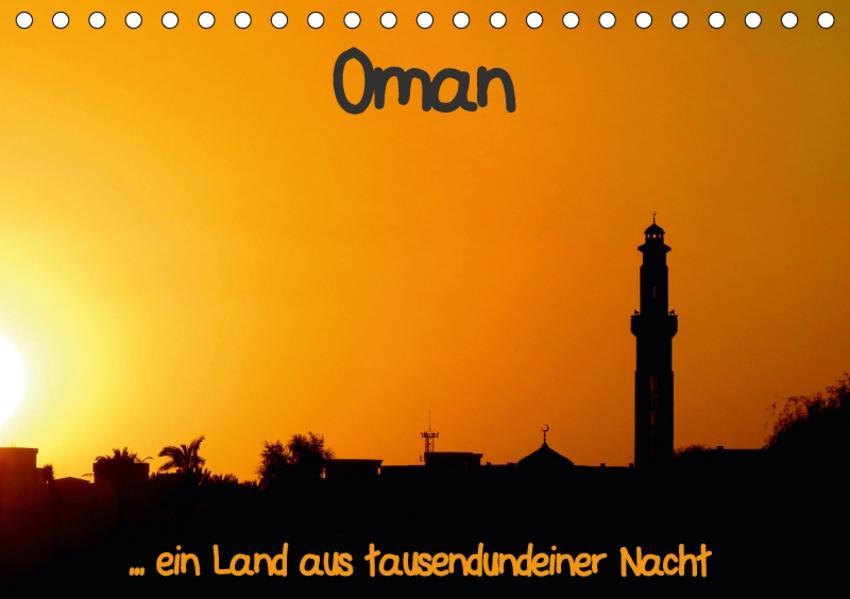 Oman (Tischkalender 2017 DIN A5 quer) - Coverbild