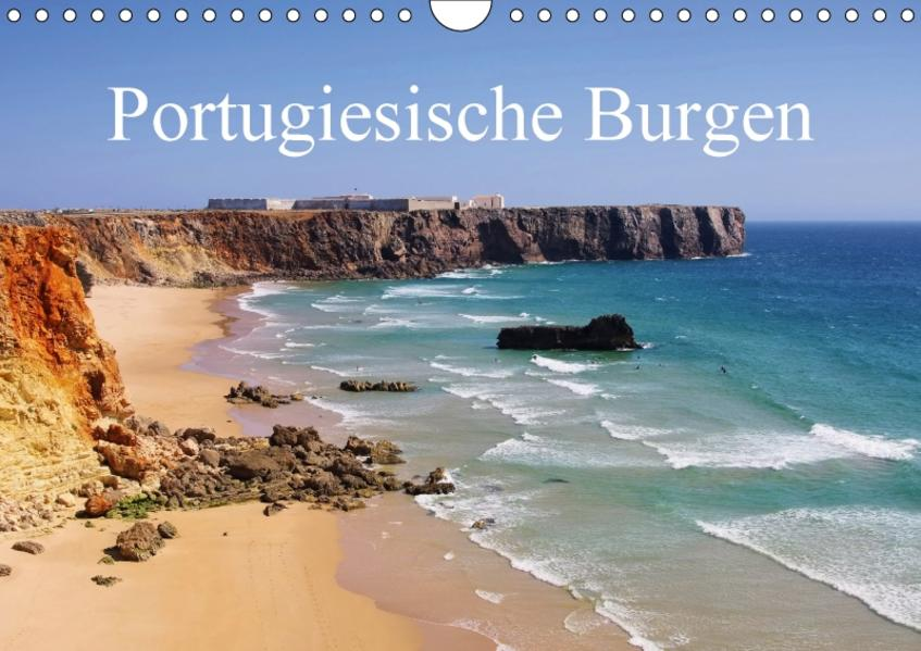 Portugiesische Burgen (Wandkalender 2017 DIN A4 quer) - Coverbild