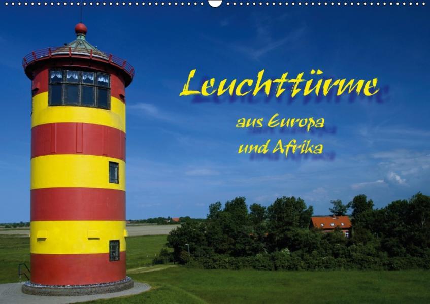 Leuchttürme (Wandkalender 2017 DIN A2 quer) - Coverbild
