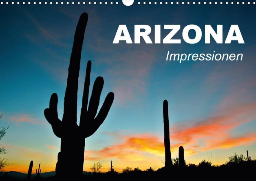 Arizona • Impressionen (Wandkalender 2017 DIN A3 quer) - Coverbild