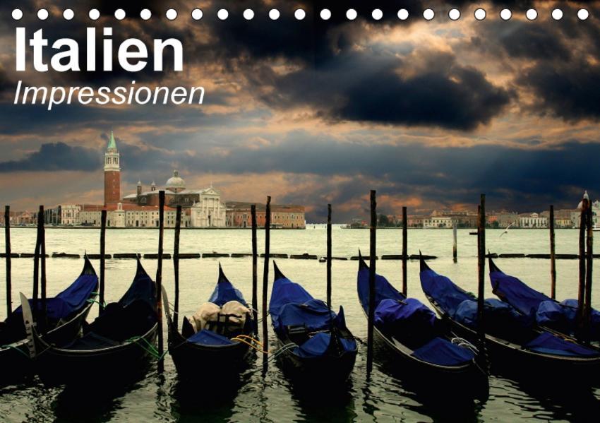 Italien • Impressionen (Tischkalender 2017 DIN A5 quer) - Coverbild