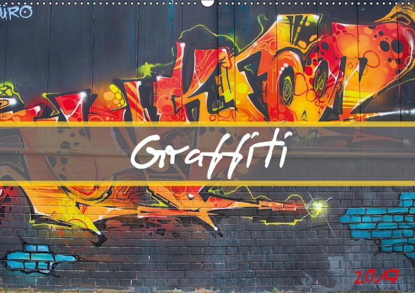 Graffiti (Wandkalender 2017 DIN A2 quer) - Coverbild