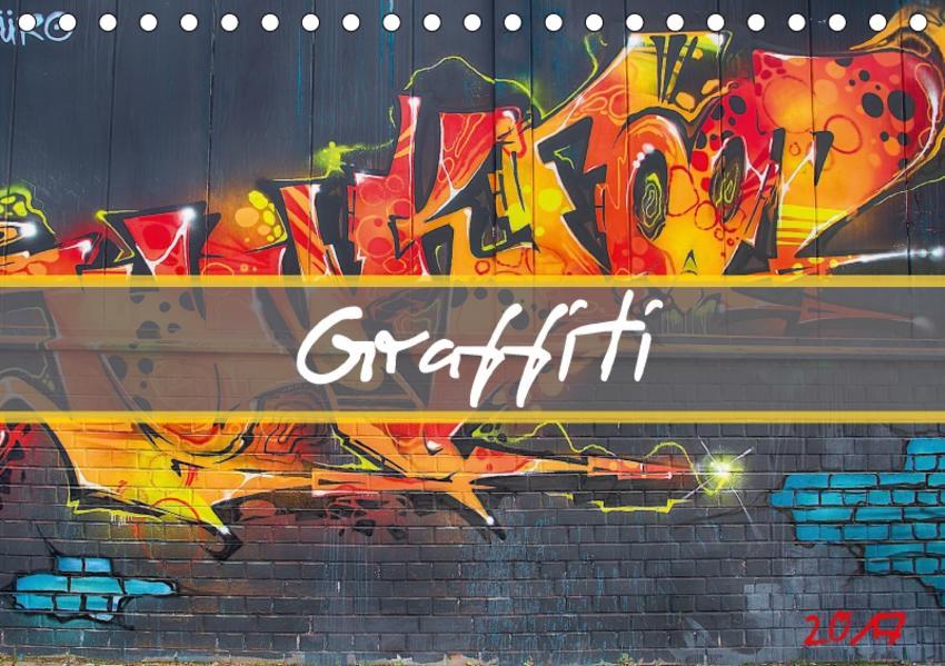 Graffiti (Tischkalender 2017 DIN A5 quer) - Coverbild