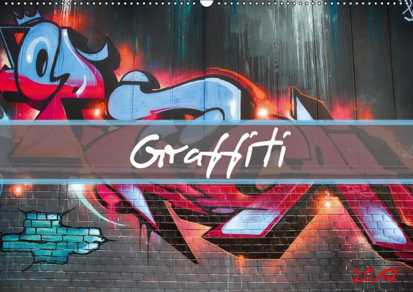 Graffiti / Geburtstagskalender (Wandkalender 2017 DIN A2 quer) - Coverbild
