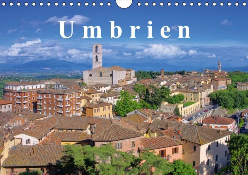 Umbrien (Wandkalender 2017 DIN A4 quer) - Coverbild