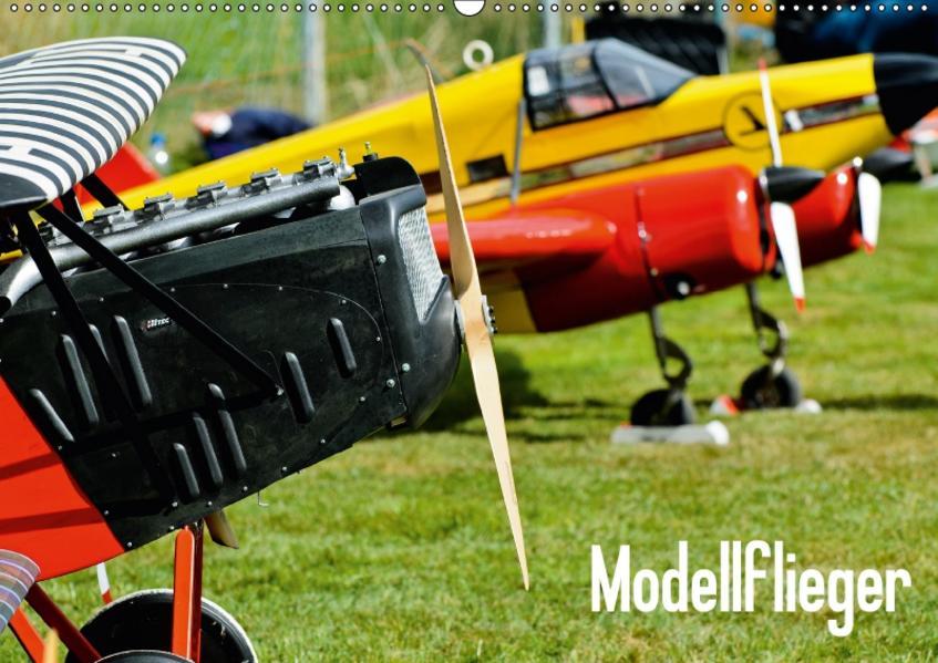 Modellflieger / CH-Version (Wandkalender 2017 DIN A2 quer) - Coverbild
