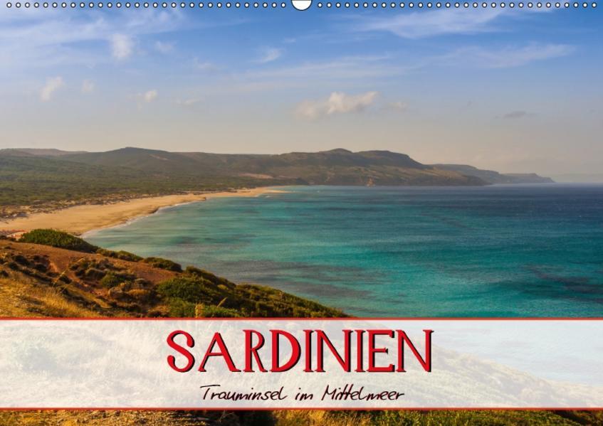 Sardinien Panoramakalender / CH-Version (Wandkalender 2017 DIN A2 quer) - Coverbild