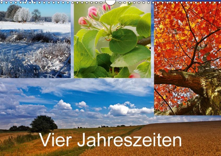 Vier Jahreszeiten (Wandkalender 2017 DIN A3 quer) - Coverbild