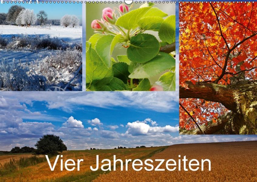 Vier Jahreszeiten (Wandkalender 2017 DIN A2 quer) - Coverbild