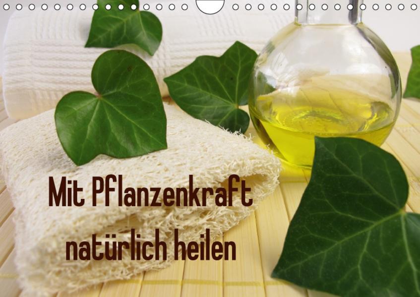 Mit Pflanzenkraft natürlich heilen (Wandkalender 2017 DIN A4 quer) - Coverbild