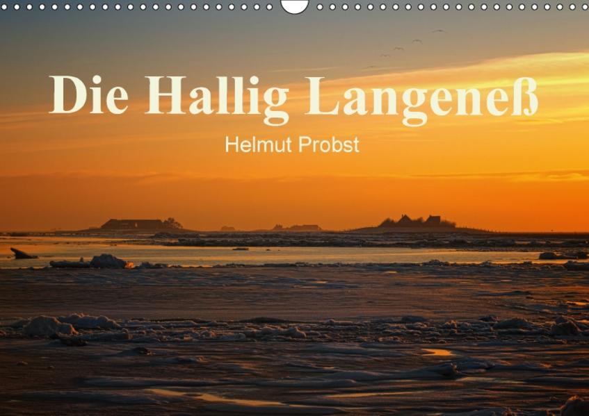 Die Hallig Langeneß / CH-Version (Wandkalender 2017 DIN A3 quer) - Coverbild