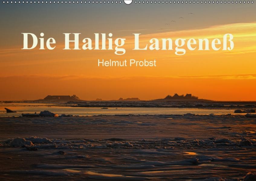 Die Hallig Langeneß / CH-Version (Wandkalender 2017 DIN A2 quer) - Coverbild