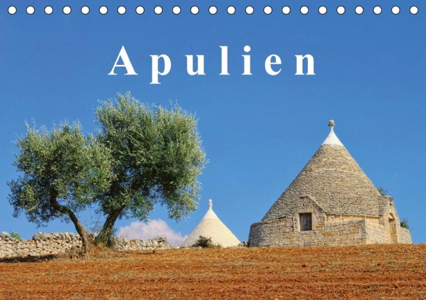 Apulien (Tischkalender 2017 DIN A5 quer) - Coverbild