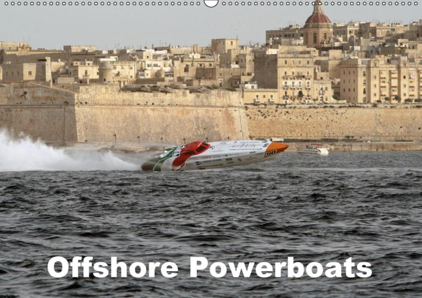 Offshore Powerboats (Wandkalender 2017 DIN A2 quer) - Coverbild