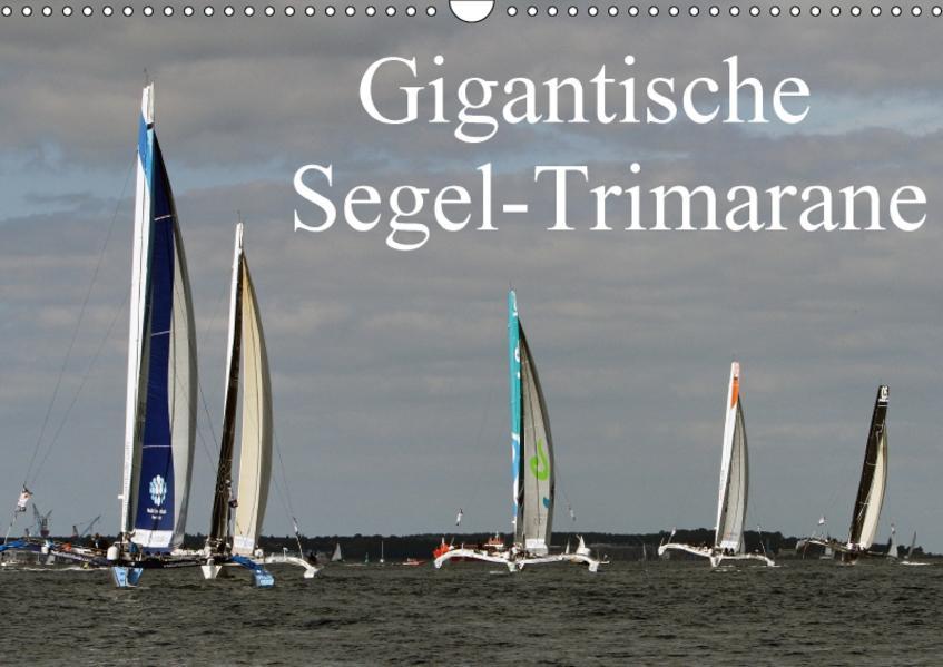 Gigantische Segel-Trimarane (Wandkalender 2017 DIN A3 quer) - Coverbild