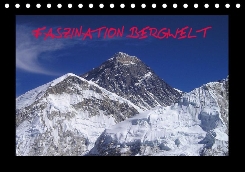 Faszination Bergwelt (Tischkalender 2017 DIN A5 quer) - Coverbild