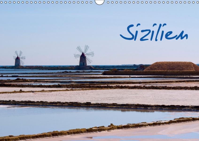 Sizilien (Wandkalender 2017 DIN A3 quer) - Coverbild