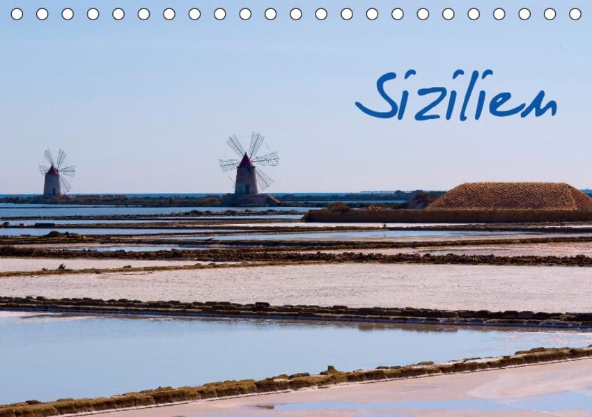 Sizilien (Tischkalender 2017 DIN A5 quer) - Coverbild
