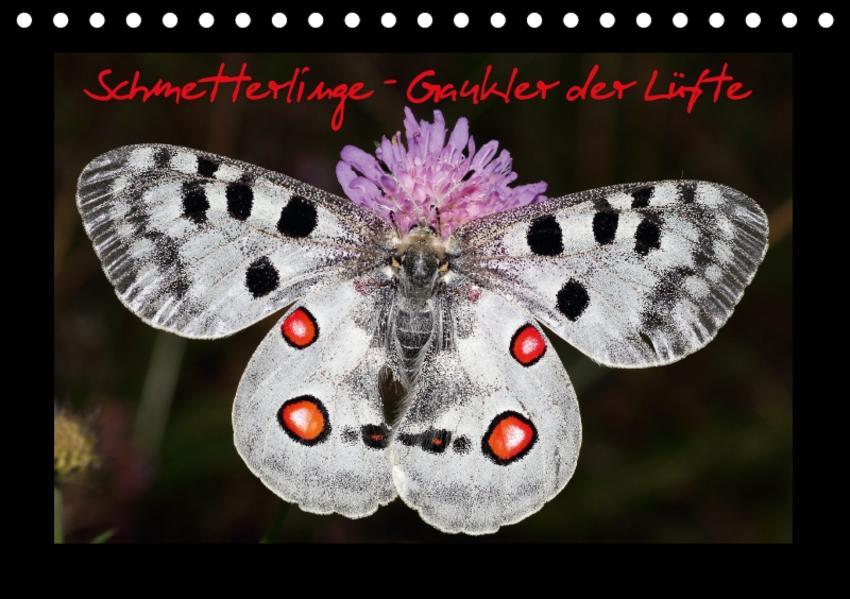 Schmetterlinge - Gaukler der Lüfte (Tischkalender 2017 DIN A5 quer) - Coverbild