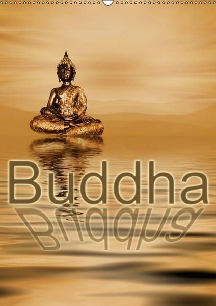 Buddha / Planer (Wandkalender 2017 DIN A2 hoch) - Coverbild