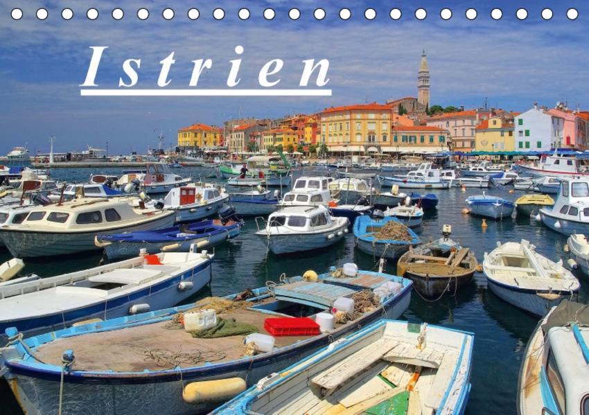 Istrien (Tischkalender 2017 DIN A5 quer) - Coverbild