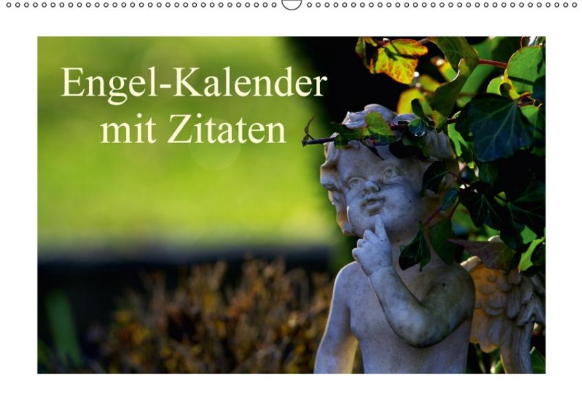 Engel-Kalender mit Zitaten / CH-Version (Wandkalender 2017 DIN A2 quer) - Coverbild